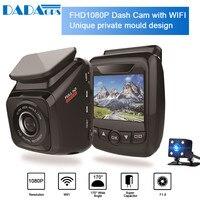 HD1080P Car DVR Cameras ADAS Dash Cam Rearview Camera Video Recorder Automatic camera DVR G Sensor Night vision camera Dual Lens