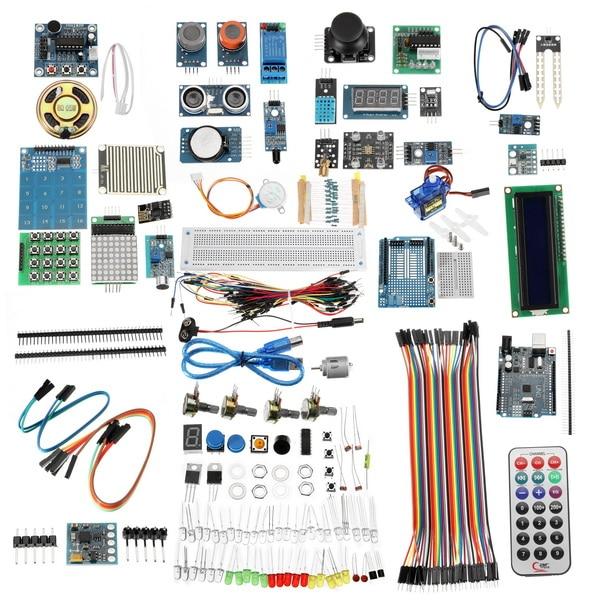 UNO R3 LCD Capteur Wifi laser bluetooth Débutant Starter Kit Module Pour Arduino