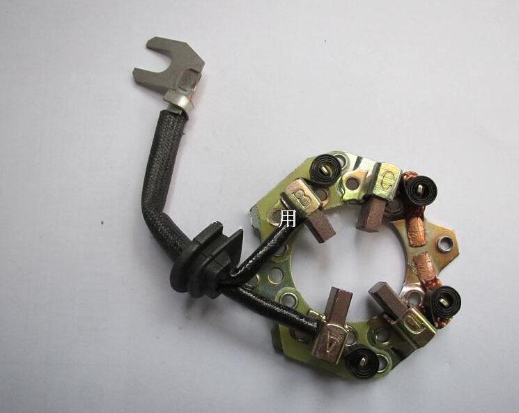 Suporte de escova de carbono do motor de partida para Nissan Livina - Peças auto - Foto 1