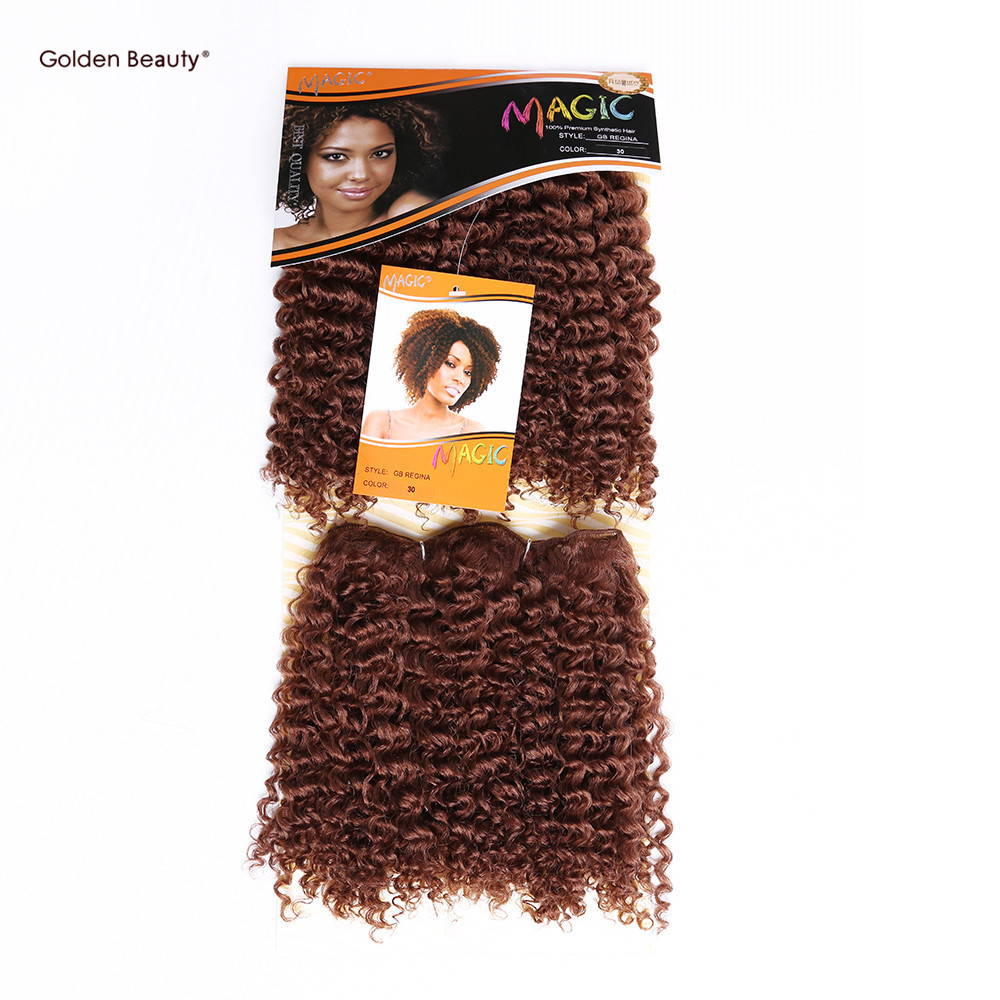 10inch Afro Kinky Jerry Curly Noble Gold Gb Regina Short Hair Weave