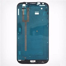 Original New Front Frame LCD Bezel Plate Housing Faceplate For Samsung Galaxy Note2 Note 2 N7100 free shipping