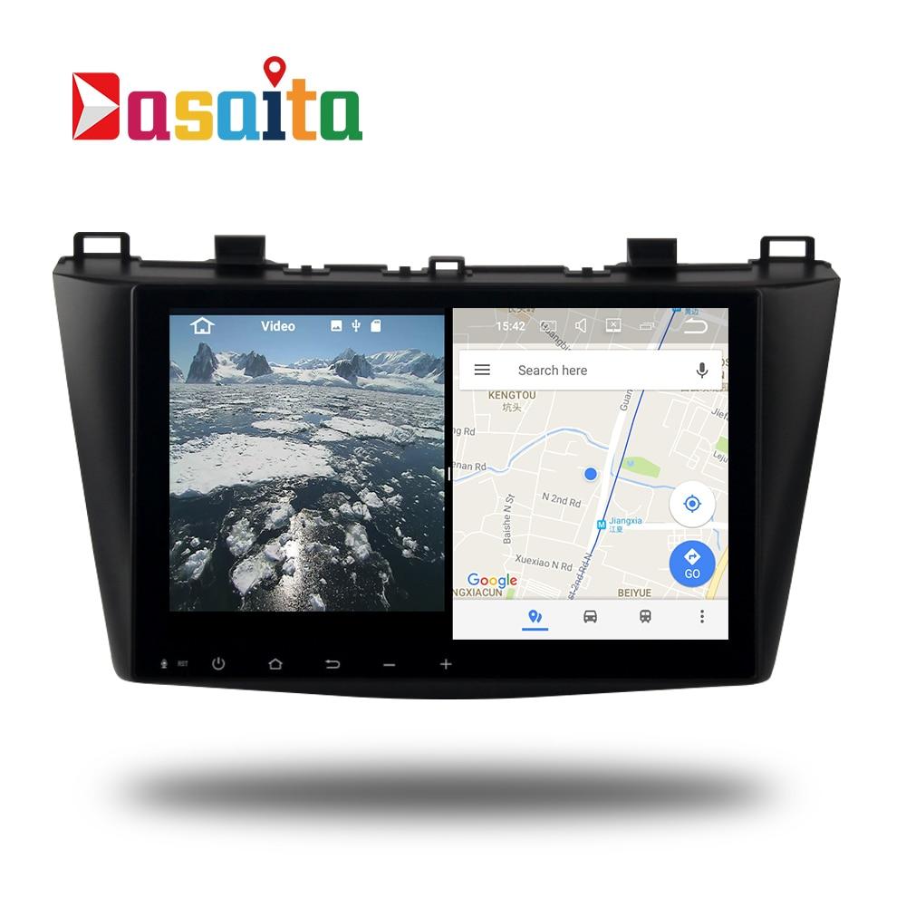 Car 2 Din Radio Android 7 1 1 Gps Navi For Mazda 3 2010