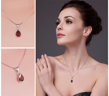 Natural Red Garnet Pendant