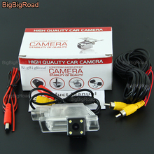 BigBigRoad For Peugeot 2008 3008 301 308 408 508 C5 2013 2014 2015 2016 / Citroen C5 C4 MG3 MG5 Car Rear View Reverse camera защита абсорбера citroen peugeot d000000104 для citroen c4 седан 2013 2016