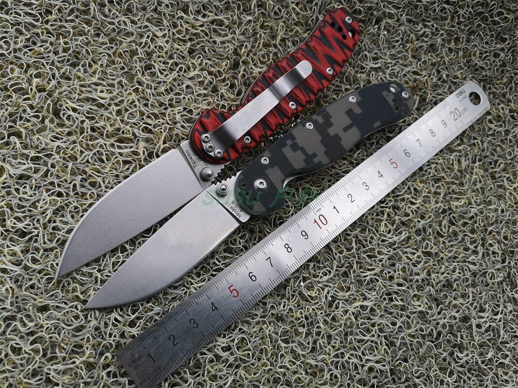 EF AUS-8 Taktische Faltende Messer G10 Griff Überleben Outdoor Camping Tragbare Kampf Messer EDC Jagd Multi Werkzeuge RATTE Modell 2