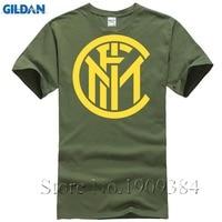 2017 Fashion Summer Men S Printing T Shirt Inter Milan Logo Casual Cotton Loose Code T