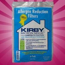 6 CLOTH Sentria Hepa Micron Magic U G Kirby Vacuum Bags NEW OEM SEALED PRODUCT!!