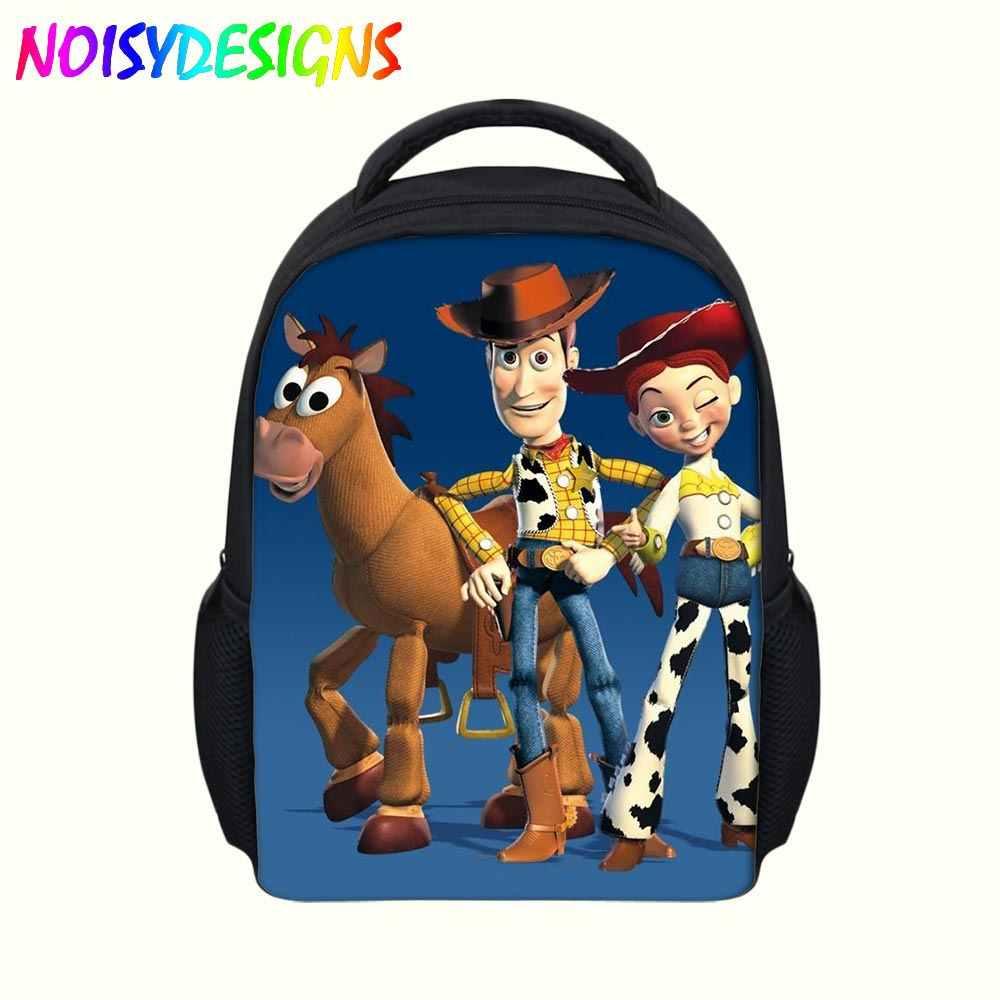 Cartoon Toy Story Kindergarten Backpack School Bags For Kids Boys  Orthopedic Backpacks Children Bookbag okul cantalari 9e42948c912b4
