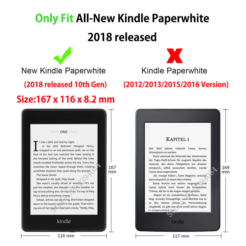 Painted Case For Amazon All-New Kindle Paperwhite Released Smart Cover For  Kindle Paperwhite 6
