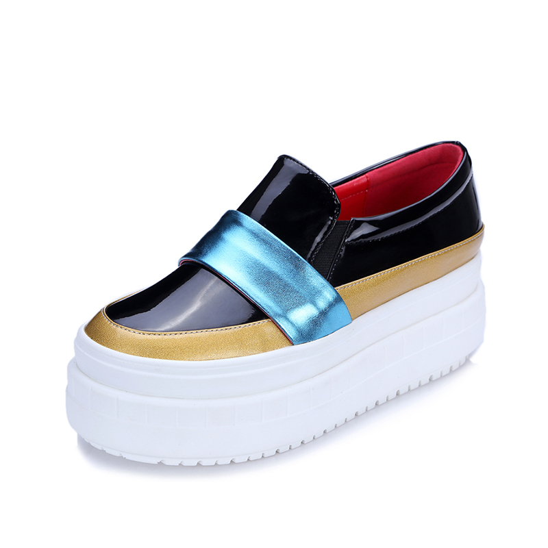 DoraTasia New Fashion Brand Loafers Flats Genuine Leather Women Comfortable Shoes Women Platform Mixed Colors Shoes Summer 2017 fashion women shoes genuine leather loafers women mixed colors casual shoes handmade soft comfortable shoes women flats