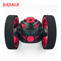 New toys remote control two wheel car 2.4G frequency car with a flexible rotating wheel led lights remote control robot