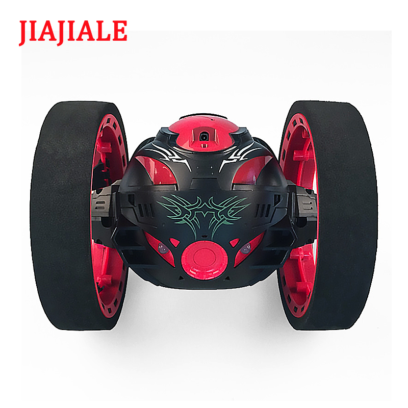 Nouveaux jouets télécommande deux-roue de voiture 2.4G fréquence de voiture avec un flexible rotation roue led lumières à distance contrôle robot