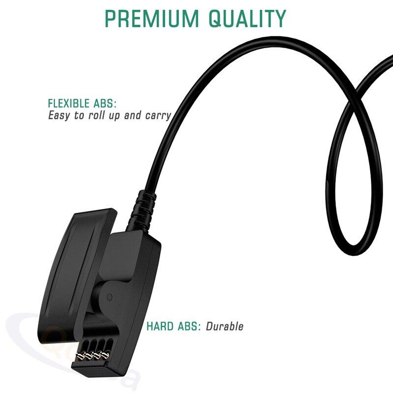 Clip de montre pour câble USB Lightning Charge pour Garmin Forerunner235 645 735 35 Vivimove HR accessoires de montre intelligente en cours d'exécution