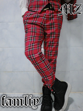 Can be customized Men's brand fashion new stage singer red plaid suit trousers costumes clothing plus size Coat