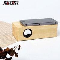Retro White Belt Speaker Portable Inductive Sound Subwoofer 3D Surround Sound Stereo Music Mini Wireless Audio