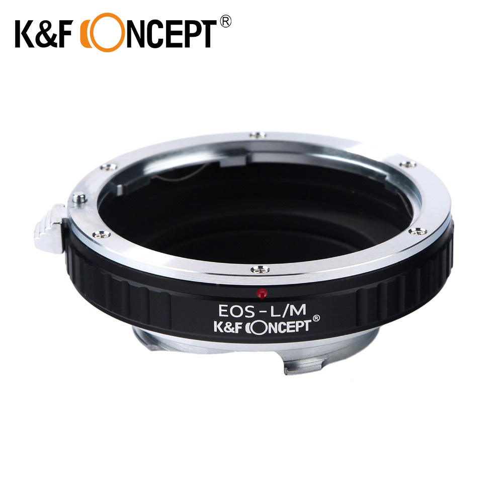 K&F CONCEPT Camera Lens Mount Adapter Ring for Canon EOS EF Mount Lens to Leica M Lens Camera Body free shipping