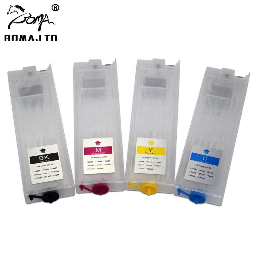 BOMA LTD T945 T946 T944 T902XXL T902 T902XL Refill Ink Cartridge For EPSON WorkForce Pro WF