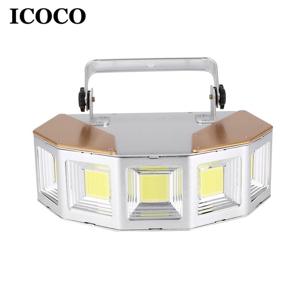 ICOCO LED lumières de scène lampe de respiration lumières grande télécommande éclairage rayonnement lampe Flash stroboscopique pour Bar KTV salle de bal