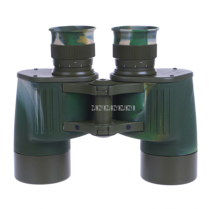 <font><b>7X40</b></font> <font><b>Binocular</b></font> Outdoor Camouflage-Color Telescope 1.5m Waterproof 35Kpa Pressure-proof Telescope High Clear for Hunting Hiking image