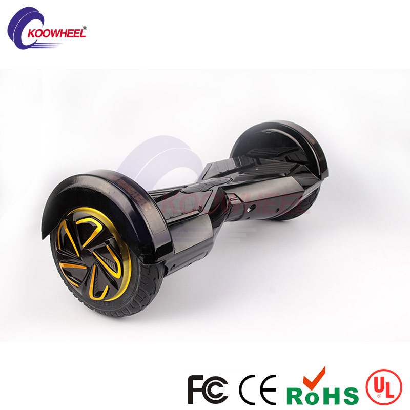 Hot 2016 koowheel Black 8 LED bluetooth two wheel self balancing scooter hover board swegway font