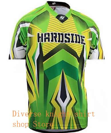 cycling jersey 2019 summerdownhill jersey short sleeved off road motorcycle motocross jersey in Cycling Jerseys from Sports Entertainment