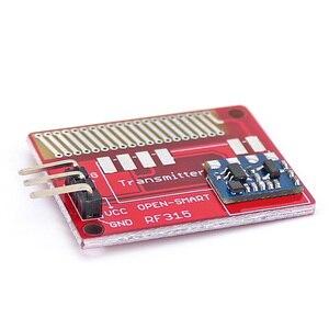 Image 3 - Açık akıllı uzun menzilli 315 MHz RF kablosuz alıcı kiti Arduino için LORA kurulu Mini RF verici alıcı modülü 315 MHz kiti