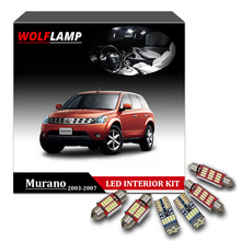Wolflamp 13Pcs Canbus White Ice Blue LED Interior Car For 2003 2007 Nissan  Murano