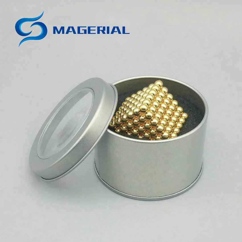 5 x 216pcs/set Total 1080pcs Diameter 4 mm Golden Bucky balls Neodymium Toy Cubes Magic Puzzles Sphere Magnets Magnetic Spheres qs 3mm216a diy 3mm round neodymium magnets golden 216 pcs page 9