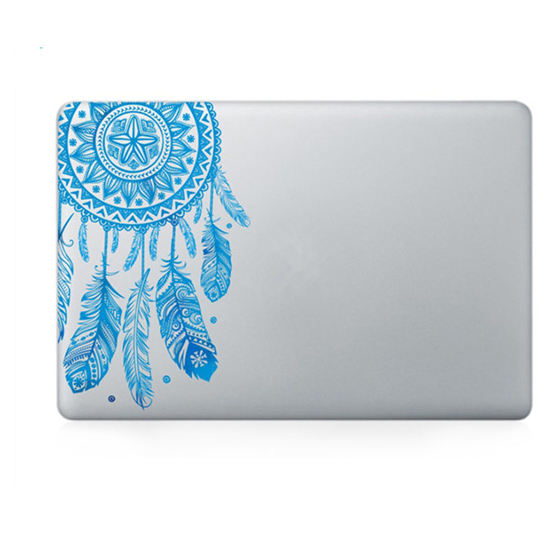 Veer Patroon Bloemen Vinyl Decal Laptop Sticker Voor Macbook Air Pro - Notebook accessoires - Foto 4