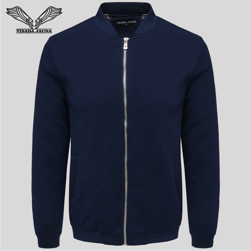 Men s Baseball Jacket 2017 New Season Long Sleeve Collar Short Slim Casual Fashion High Quality
