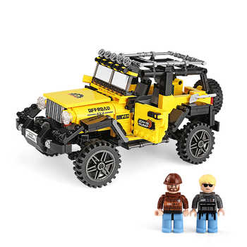610pcs Offroad Adventure Set Building Blocks Car Series Bricks Toys For Kids Educational Kids Gifts Model Christmas - DISCOUNT ITEM  20% OFF All Category