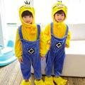 Anime Minion / Pikachu / Dinosaur /Kigurumi Unicorn Costumes Cosplay Cartoon Animal Onesies Sleepwear Kids Pajamas Home Clothing