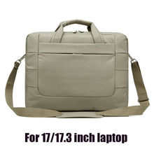 17.3 inch laptop shoulder bag computer handbag 17 notebook case cover for mac hp sony woman man universal