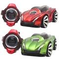 110-220 v r-102 mini rc car 2.4g 6ch smart watch esportes de controle remoto carro de brinquedo carro de comando de voz para as crianças