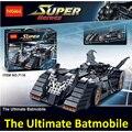 Decool 7116 Массажер Бэтмобиль Совместимость Legoe 7784 Super Heroes Бэтмен Строительные Блоки Игрушки Для Детей