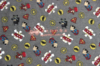 50 170cm Iron Man Batman Superman The Avengers Flannel Knitting Cotton Fabric For Sewing Diy Boy