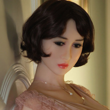 73# Top quality sex doll lifelike head for japanese doll, real sexy dolls silicone head, oral sex products