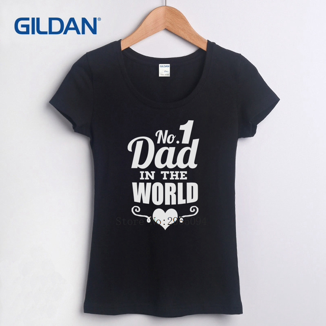 2da17feb Fathers Day Worlds Best Dad Papa Birthday Gift Daddy Present Pappa 2018  Women T-Shirts Black T Shirt Fashion Tee Shirt