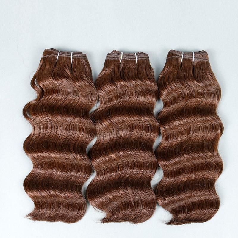 Sleek  Hair Brazilian Deep Wave 3 Bundles Deals 8A Brazilian Virgin Hair Deep Wave Mink Brazilian Hair Weave Bundles Human Hair (4)