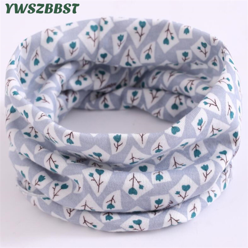 New Autumn Winter Children's Cotton Scarf Baby Kids Scarf Boys And Girls Scarves Child Collar O Ring Magic Neckerchief