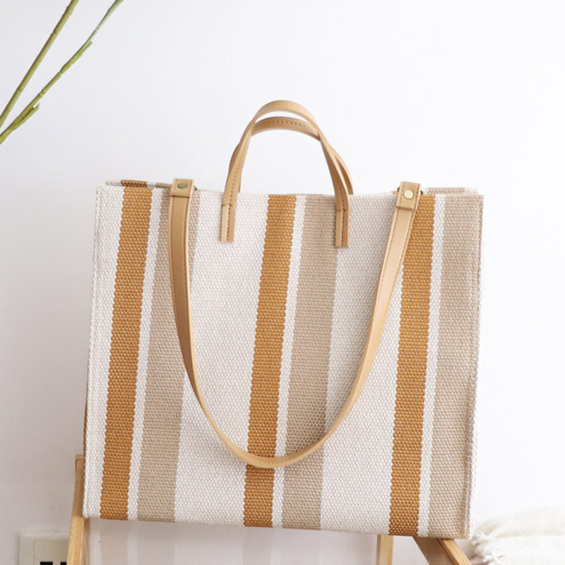 Female Canvas Oversize Tote Bag Teenager 2018 Fashion Korean Style Handbag