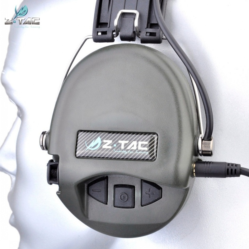 Aviação Militar Airsoft IPSC Headphone Z037