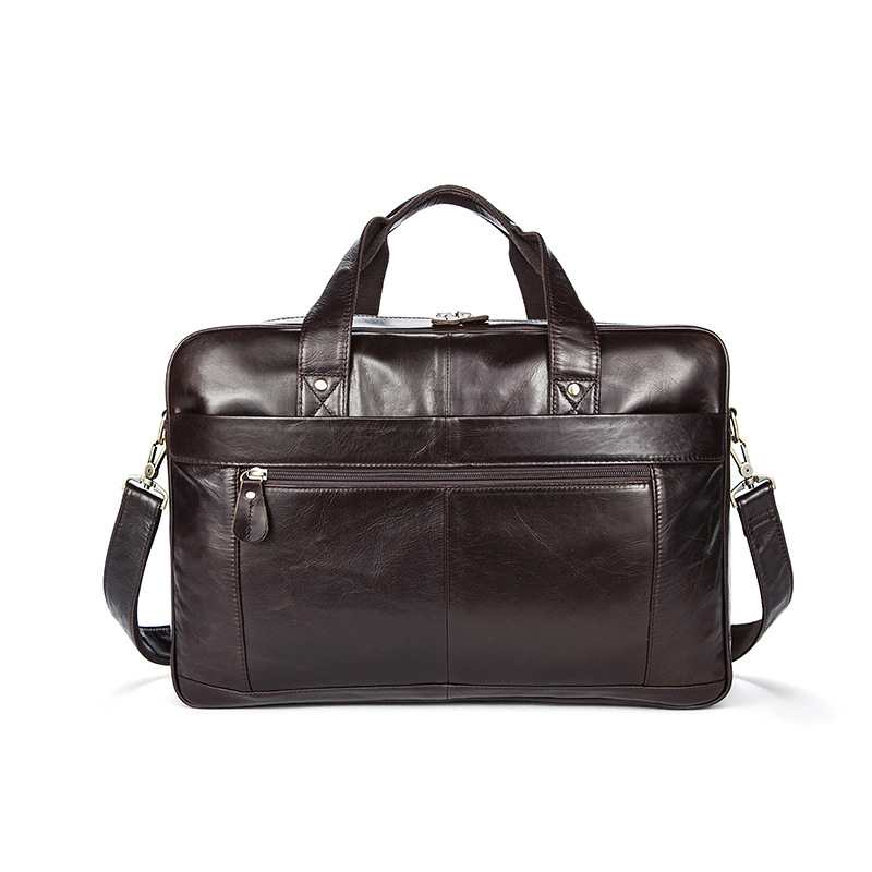 5f99be791a87 US $99.33 50% OFF|OTHERCHIC Roomy Portfolios Luxury Briefcase Genuine  Leather 14