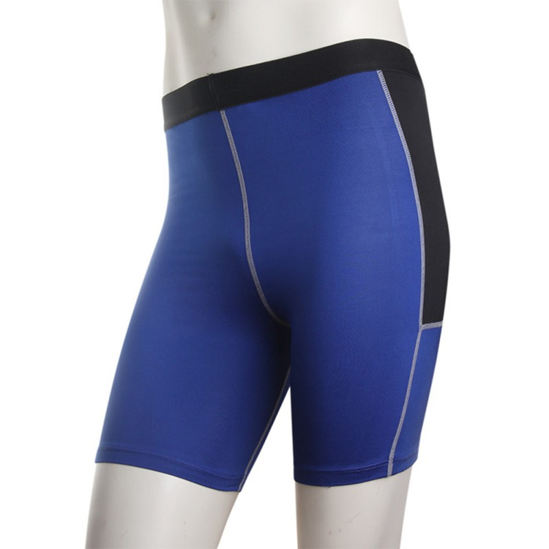 Men Sports Short Pants Compression Tights Running Shorts Gym Sports Base Layer Shorts S-XXL For Exercise New