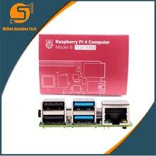 Neueste Raspberry Pi 4 Modell B mit 1/2/4GB Unterstützung 2,4/5,0 GHz WIFI Bluetooth 5,0 freies verschiffen