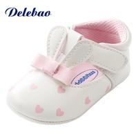 Милая детская обувь с кроличьими ушками для девочек, в форме сердца, из искусственной кожи, с бантом-бабочкой, обувь принцессы, на липучке, весна-лето, детская обувь, обувь для малышей