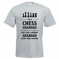 T Shirts For Sale Online Men S Crew Neck I M A Chess Grandad Grandparents Father