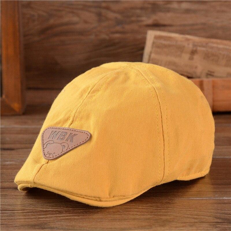 5bd14bc79 الأطفال القطن قبعة للجنسين بونيه قبعة الطفل الأزياء الدافئة قبعات بوي فتاة  كاب أطفال قبعة بيسبول الطفل الصبي قبعة الشمس