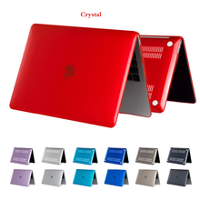 Crystal/Matte Hard Laptop Case For APPle MacBook Air Retina Pro 13 inch with Touch Bar 2017 2018 Cover for New Pro Air 13 A1932