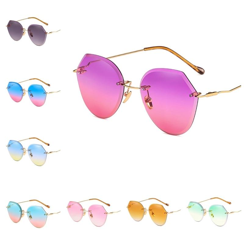 2018 Diamond Cutting Lens Sunglasses For Women Brand Designer Shades Sun Glasses Oversize Square Women's Glasses
